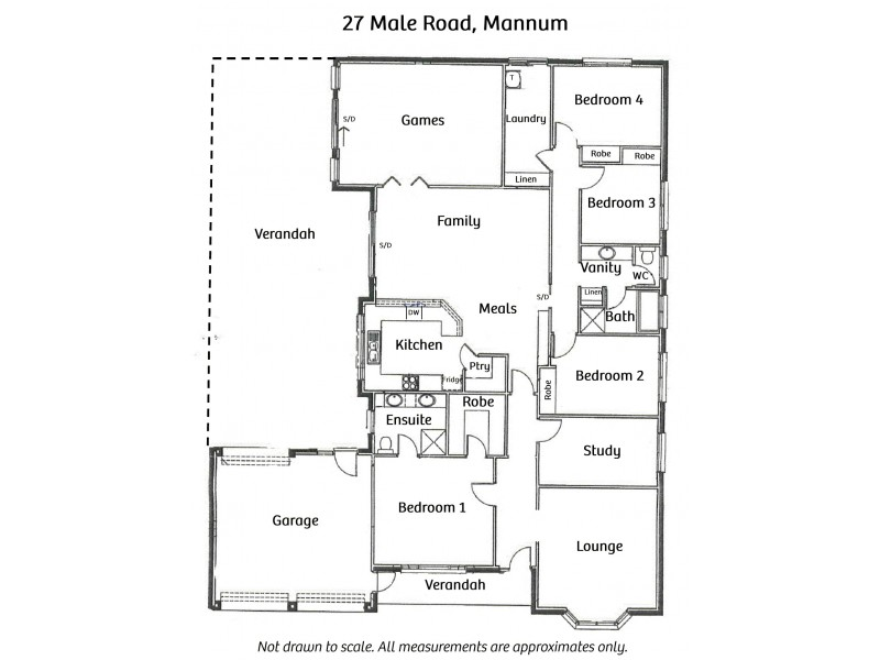 27 Male Road, Paddlesteamer Estate, Mannum SA 5238 Floorplan