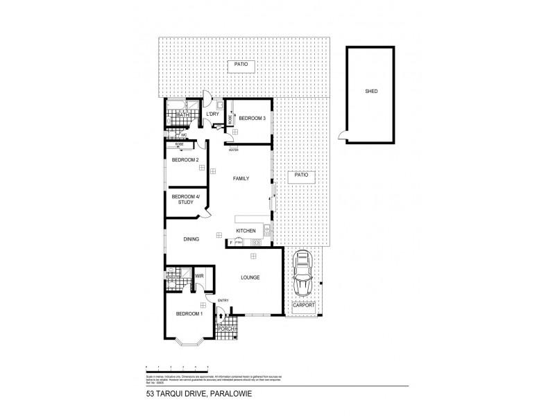 53 Tarqui Drive, Paralowie SA 5108 Floorplan