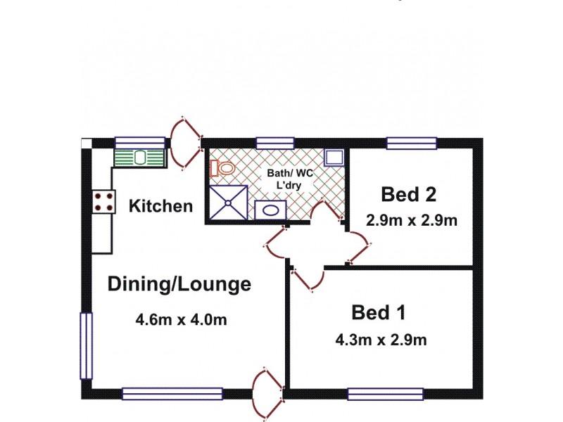 5/9 Brian Street, Salisbury SA 5108 Floorplan
