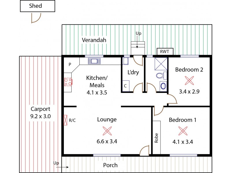 Site 96, 1 Andrews Road, Penfield SA 5121 Floorplan