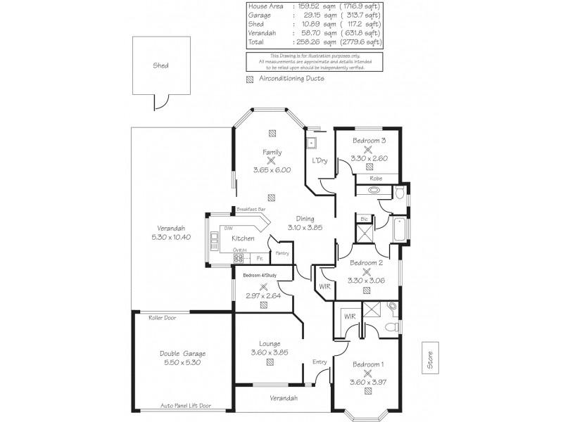 15 Surrey Court, Craigmore SA 5114 Floorplan