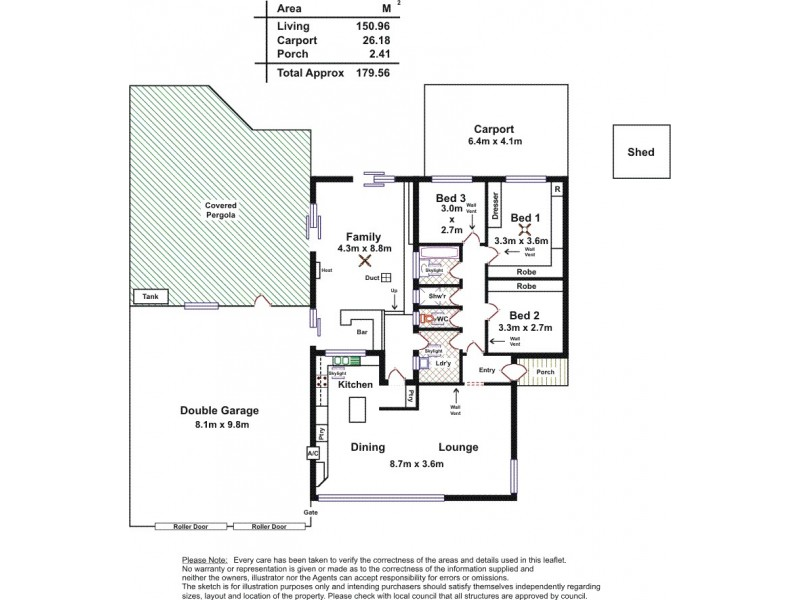 5 Westwood Street, Davoren Park SA 5113 Floorplan