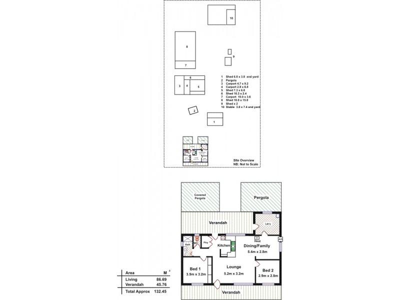 198 Dawkins Road, Lewiston SA 5501 Floorplan