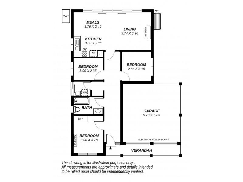 71 Whites Road, Salisbury North SA 5108 Floorplan