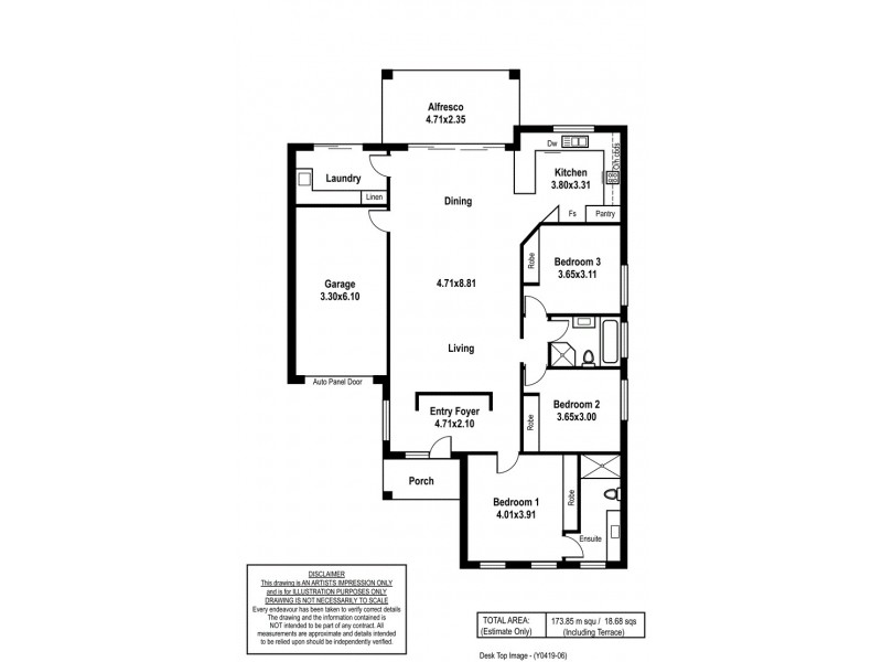 190B Black Road, Aberfoyle Park SA 5159 Floorplan