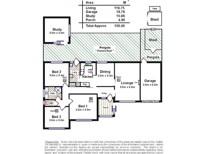 12 Briscoe Street, Port Noarlunga SA 5167 Floorplan