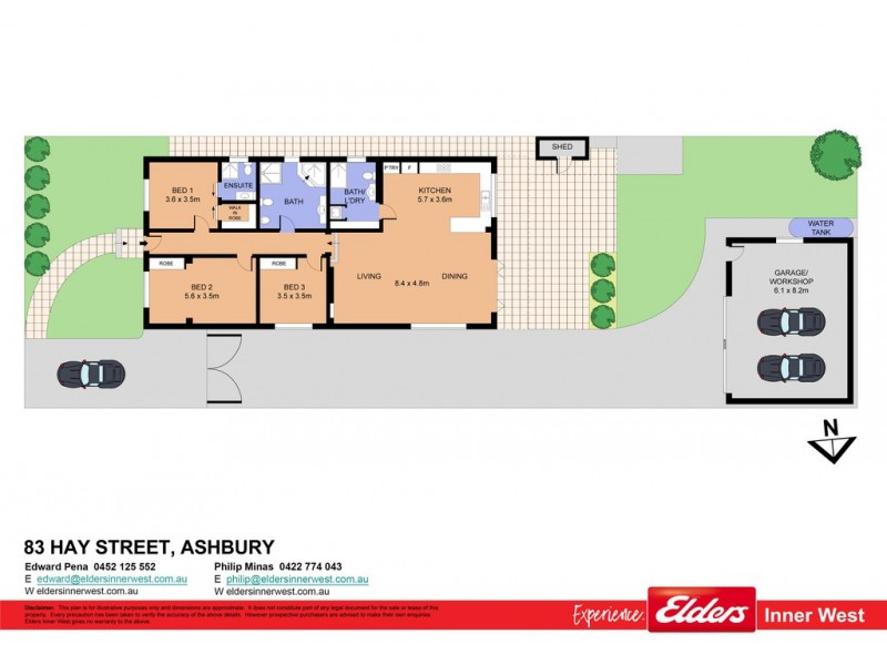 83 Hay Street, Ashbury NSW 2193 Floorplan