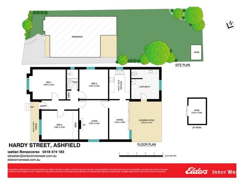 19 Hardy Street, Ashfield NSW 2131 Floorplan