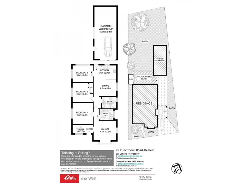 95 Punchbowl Road, Belfield NSW 2191 Floorplan