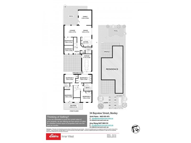 34 Bayview Street, Bexley NSW 2207 Floorplan