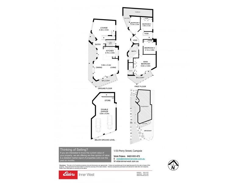1/33 Perry Street, Campsie NSW 2194 Floorplan