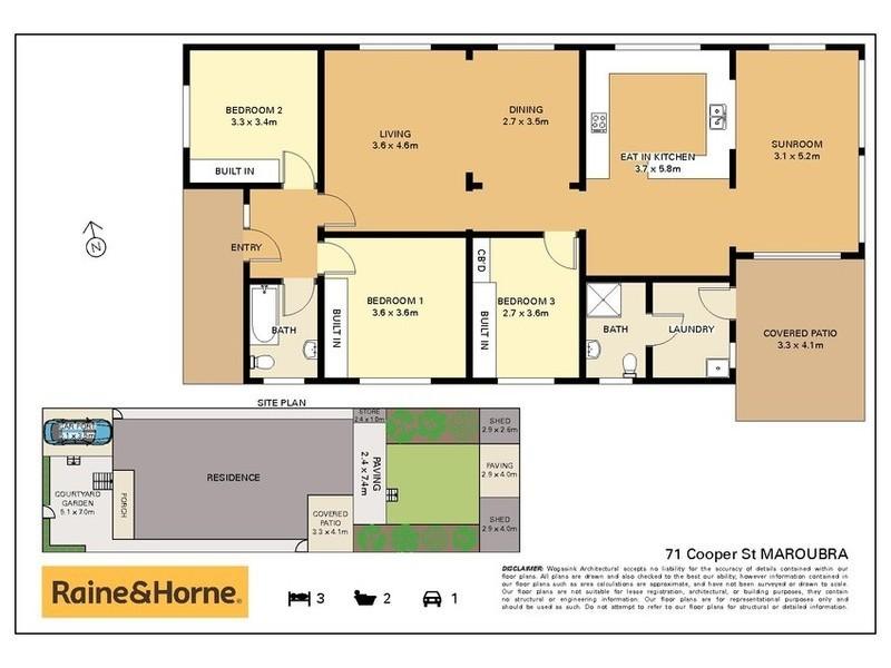71 Cooper Street, Maroubra NSW 2035 Floorplan
