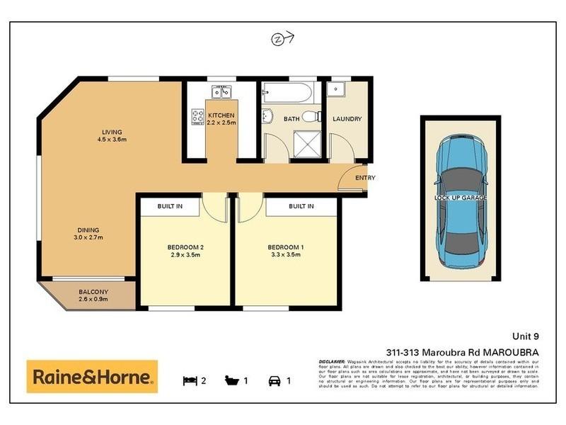 9/311 Maroubra Road, Maroubra NSW 2035 Floorplan