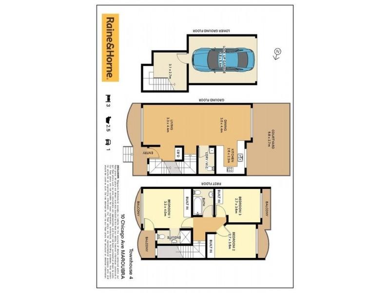 4/10-14 Chicago Avenue, Maroubra NSW 2035 Floorplan