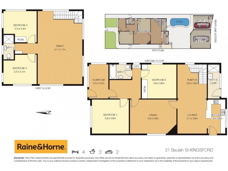 21 Beulah Street, Kingsford NSW 2032 Floorplan