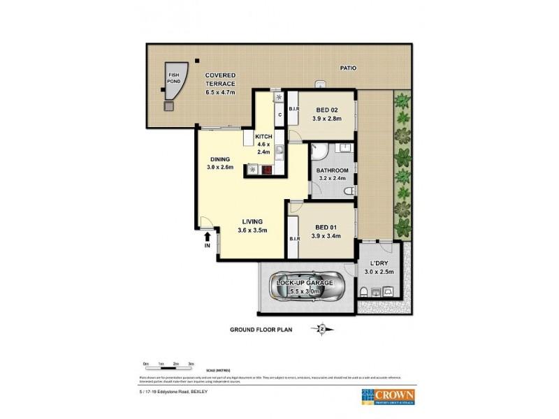 5  / 17 – 19 Eddystone Road, Bexley NSW 2207 Floorplan