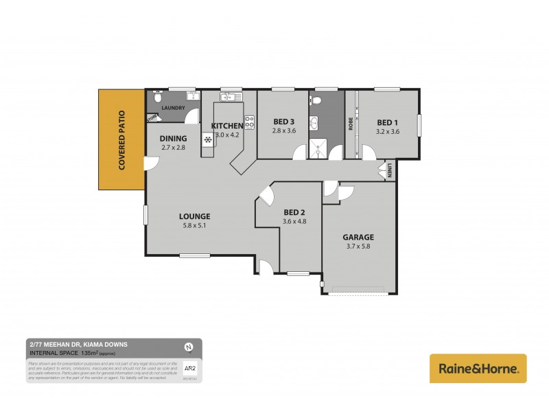 2/77 Meehan Drive, Kiama Downs NSW 2533 Floorplan