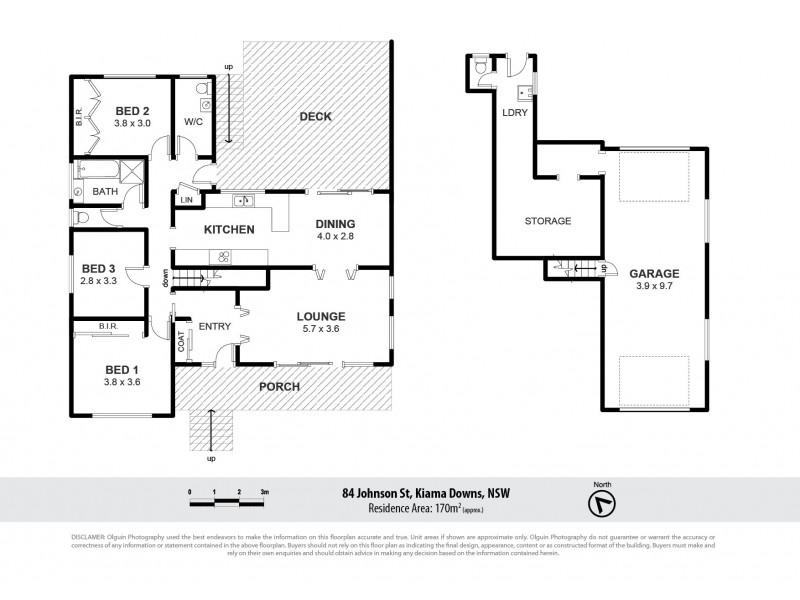 84 Johnson Street, Kiama Downs NSW 2533 Floorplan