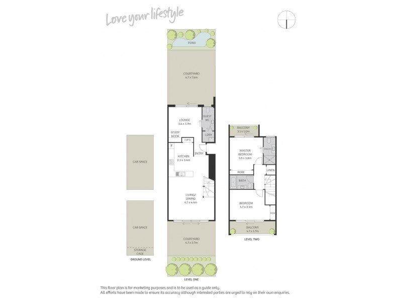 6/1-3 Elizabeth Avenue, Mascot NSW 2020 Floorplan