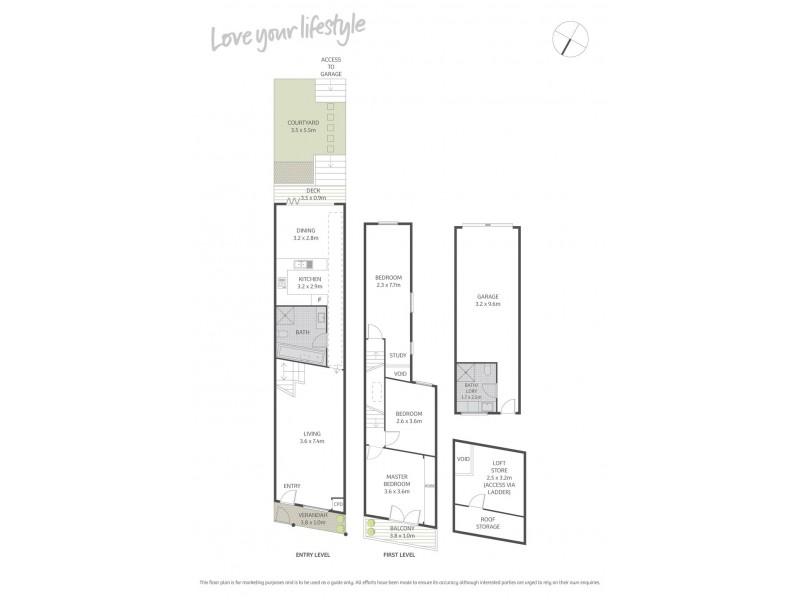 182 Henderson Road, Alexandria NSW 2015 Floorplan