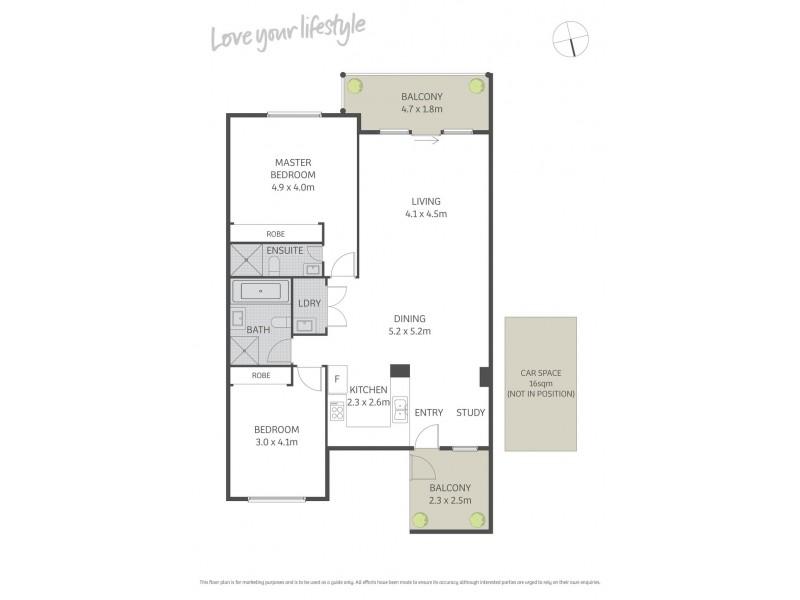 97/49 Henderson Road, Eveleigh NSW 2015 Floorplan