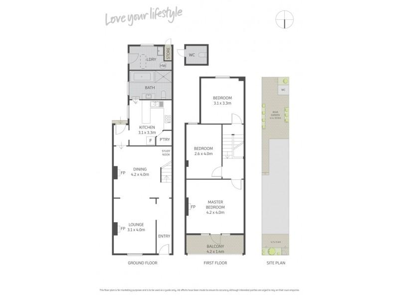 45 Brighton Street, Petersham NSW 2049 Floorplan