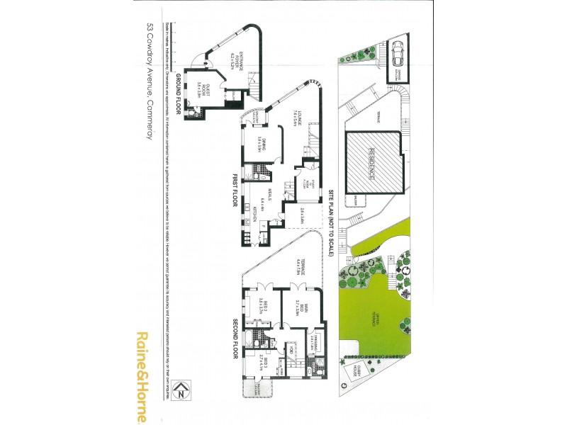 53 Cowdroy Avenue, Cammeray NSW 2062 Floorplan
