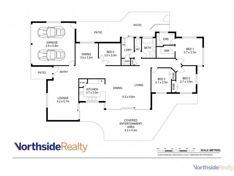 14 Saraband Drive, Eatons Hill QLD 4037 Floorplan