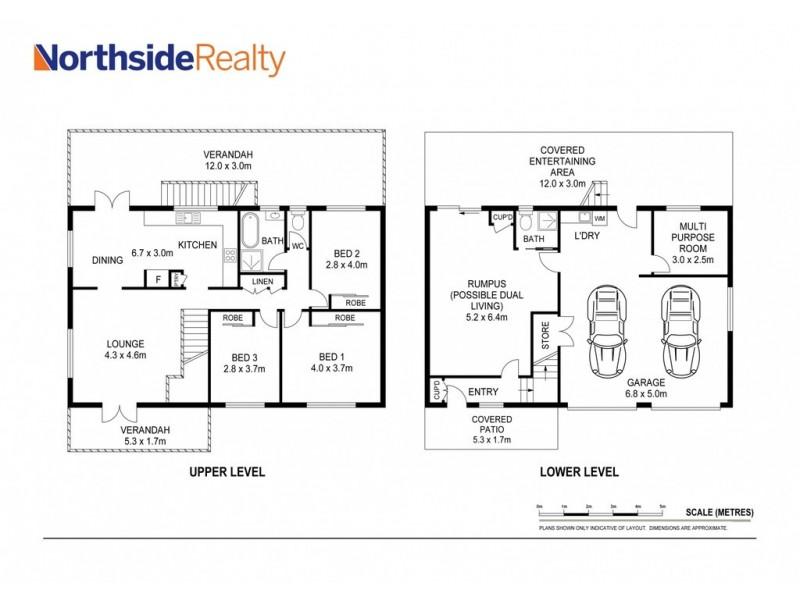 9 Crescent Ct, Albany Creek QLD 4035 Floorplan