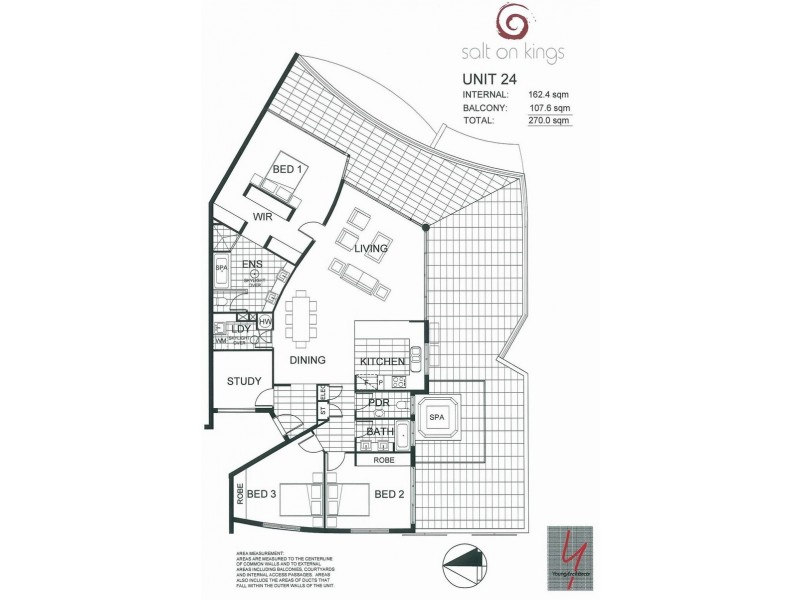 Unit 24 'Salt On Kings' 13 Mahia Terrace, Kings Beach QLD 4551 Floorplan