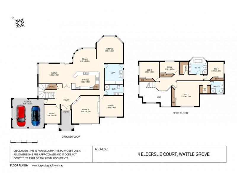 Wattle Grove NSW 2173 Floorplan
