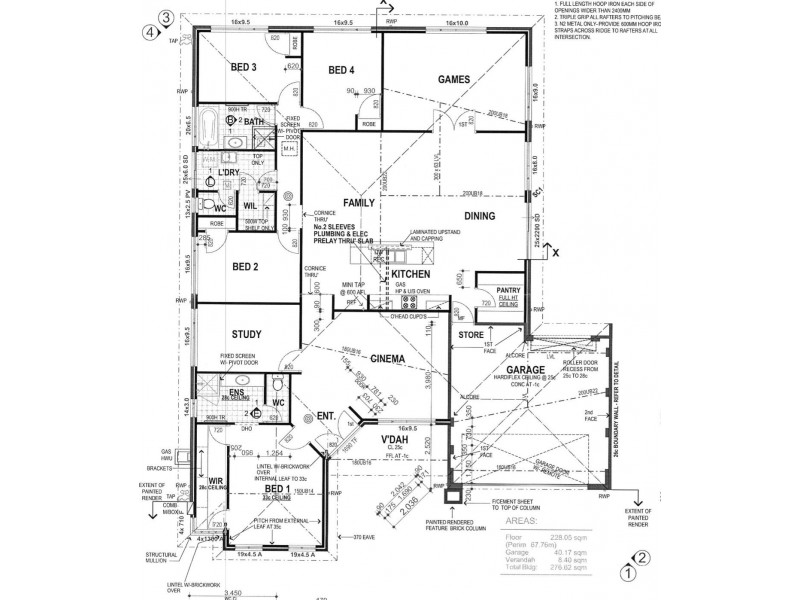 7 Arwon Street, Baldivis WA 6171 Floorplan