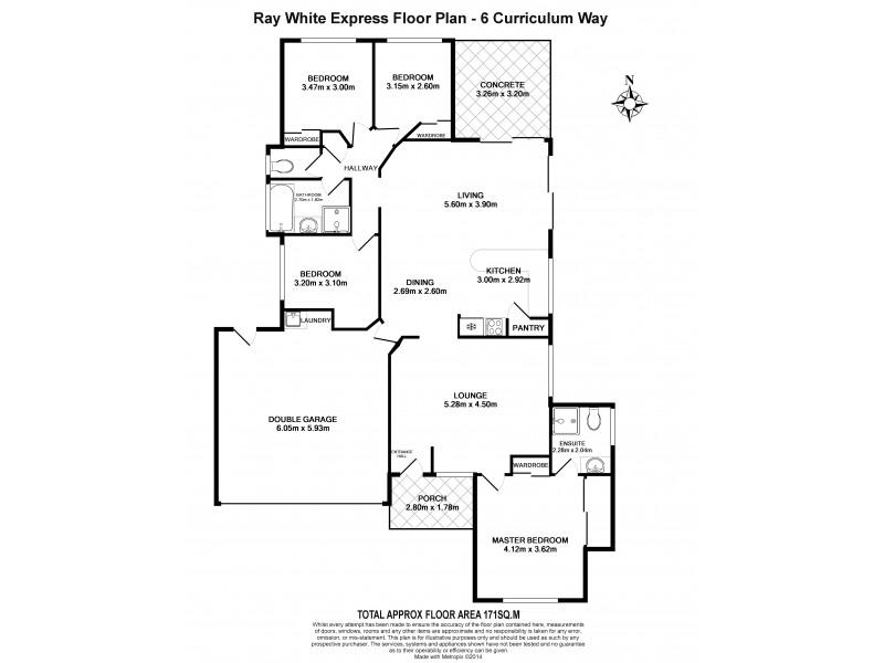 6 Curriculum Way, Upper Coomera QLD 4209 Floorplan