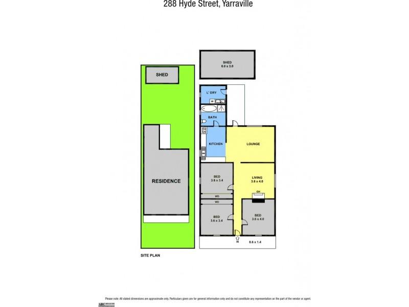 288 Hyde Street, Yarraville VIC 3013 Floorplan