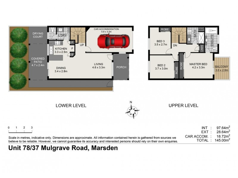 78/37 Mulgrave Road, Marsden QLD 4132 Floorplan