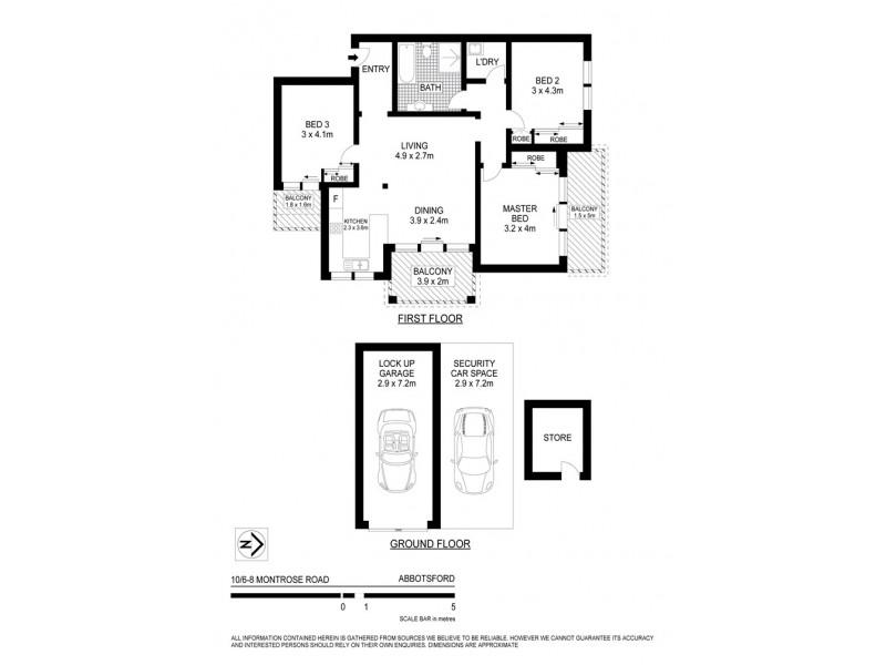 10/6-8 Montrose Road, Abbotsford NSW 2046 Floorplan