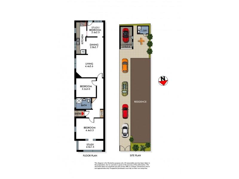 North Bondi NSW 2026 Floorplan