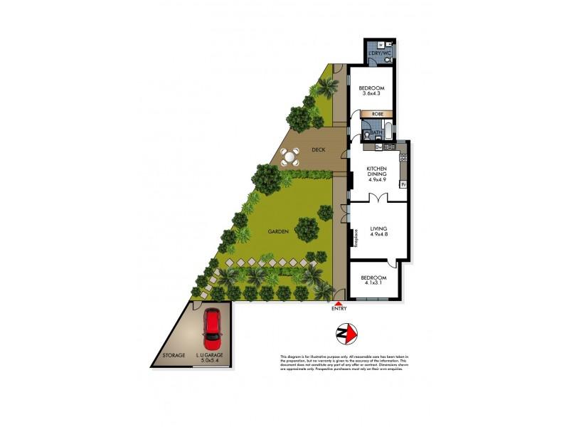 1/2 Nelson Street, Woollahra NSW 2025 Floorplan