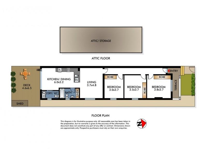 9 Orr Street, Bondi NSW 2026 Floorplan