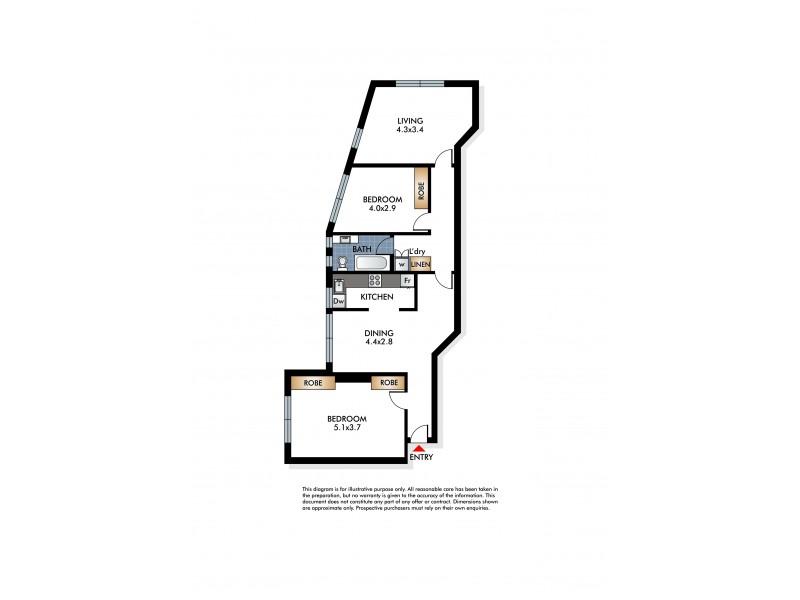 7/106 Brighton Boulevard, North Bondi NSW 2026 Floorplan