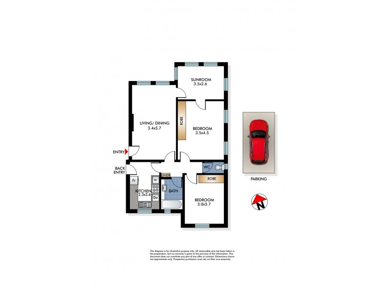 3/4 South Avenue, Double Bay NSW 2028 Floorplan