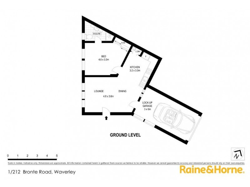 1/212 Bronte Road, Waverley NSW 2024 Floorplan