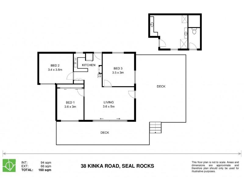 38 Kinka Road, Seal Rocks NSW 2423 Floorplan
