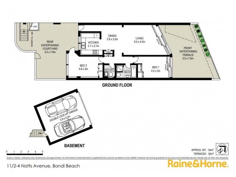 11/2-4 Notts Avenue, Bondi Beach NSW 2026 Floorplan