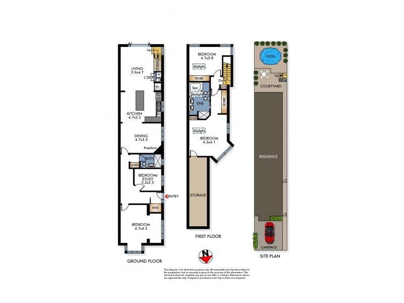 19 Stewart Street, North Bondi NSW 2026 Floorplan