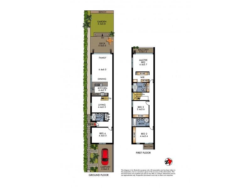 48 Nancy Street, North Bondi NSW 2026 Floorplan