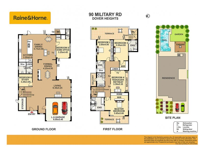 90 Military Road, Dover Heights NSW 2030 Floorplan