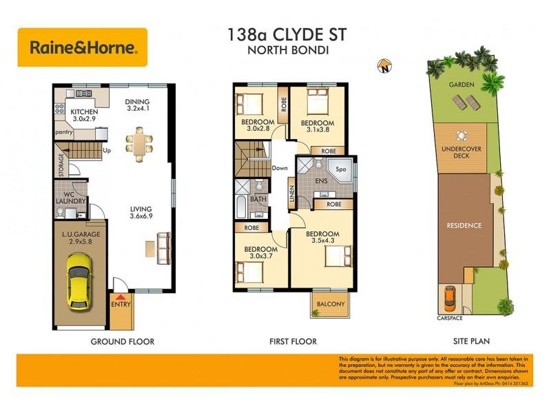 138a Clyde Street, North Bondi NSW 2026 Floorplan