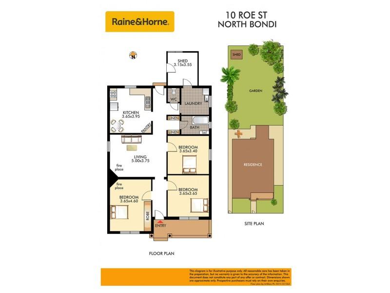 10 Roe Street, North Bondi NSW 2026 Floorplan