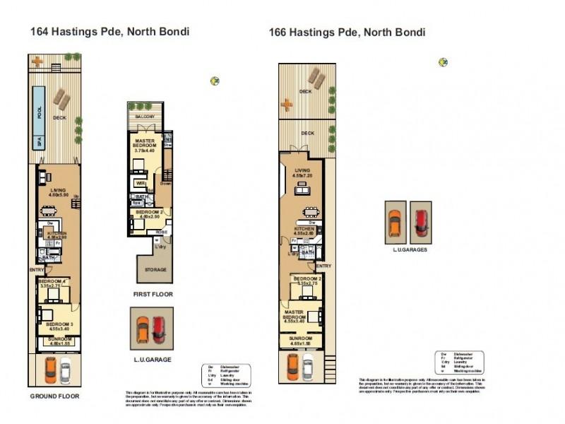 164 Hastings Parade, North Bondi NSW 2026 Floorplan